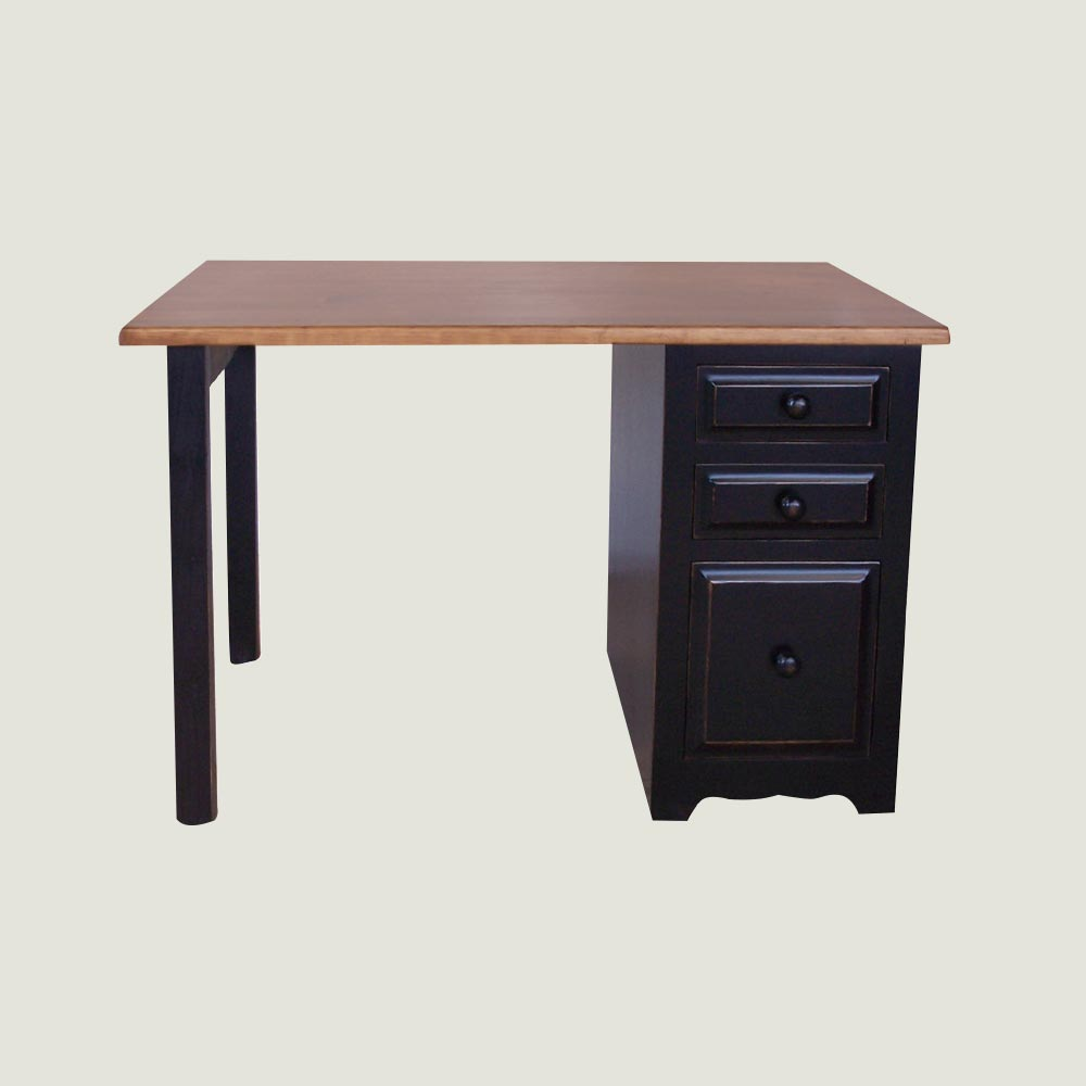 Desk: Three Drawer Filing Pedestal